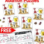 Sandcastle Addition Puzzles