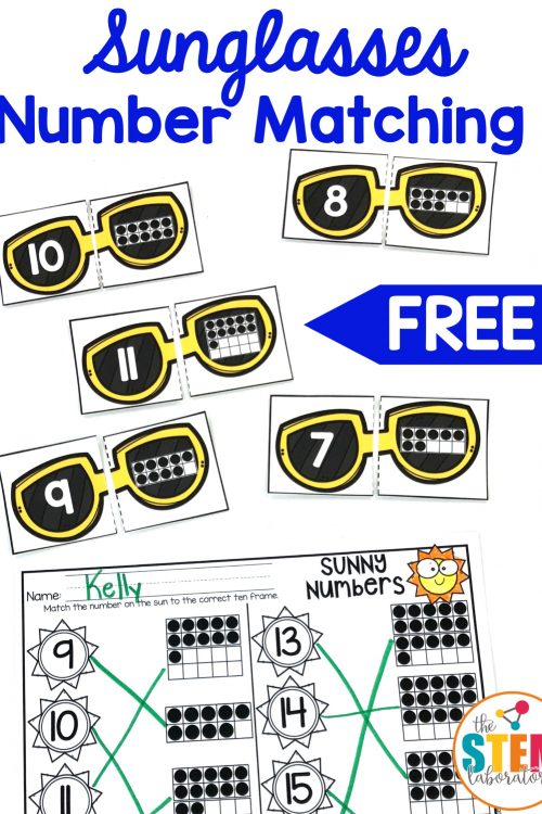 Sunglass Number Puzzles