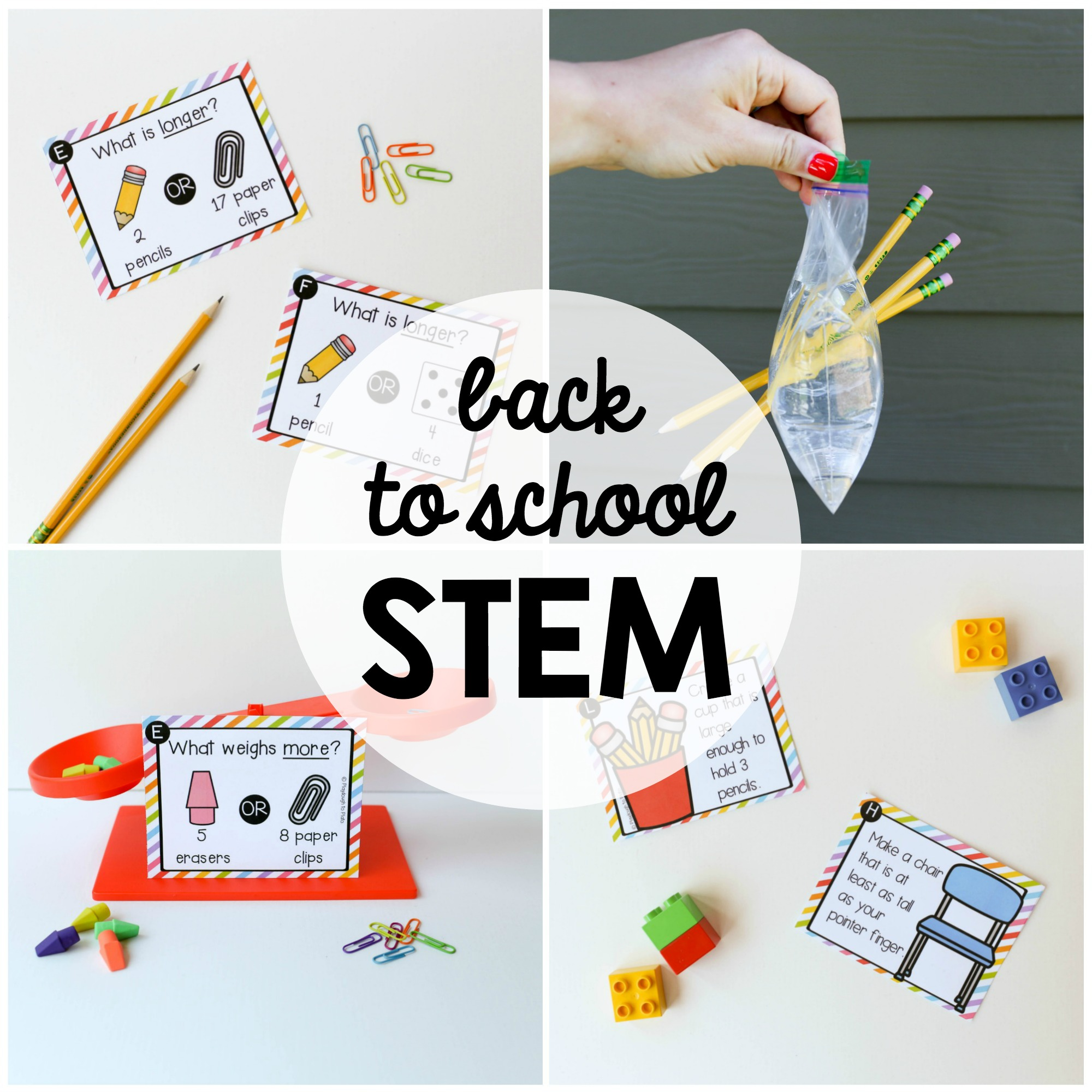 What Is Stem Lab In School: Back To School STEM Challenges