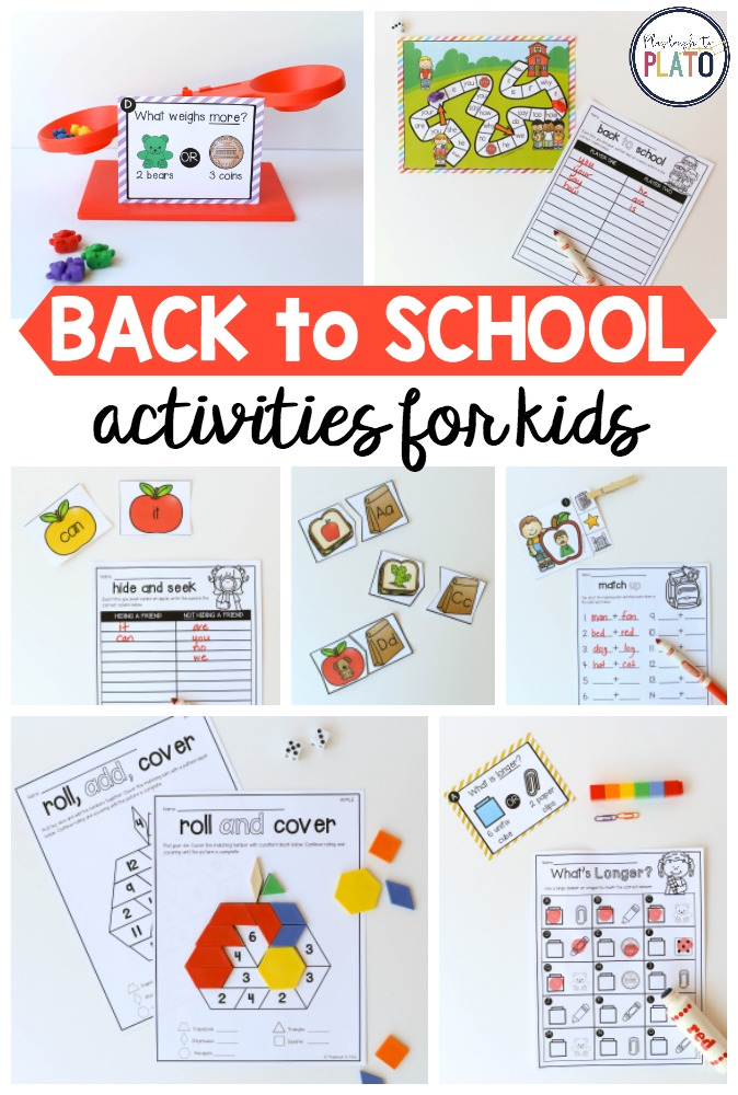 Back to school activities! - The Stem Laboratory