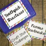 Editable STEM Box Labels