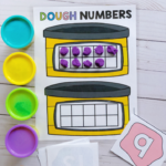 Playdough Number Games
