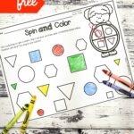 Spin and Color Shapes