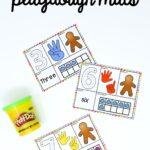 Gingerbread Playdough Mats