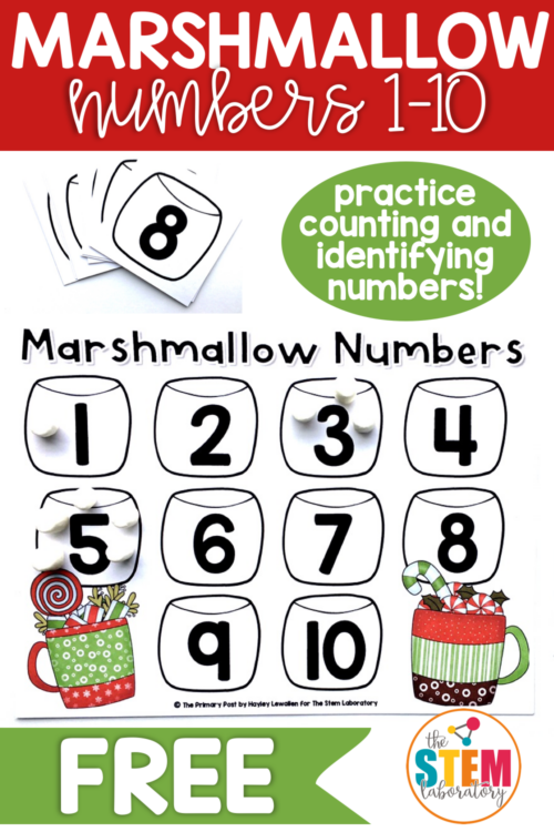 Marshmallow Numbers 1-10