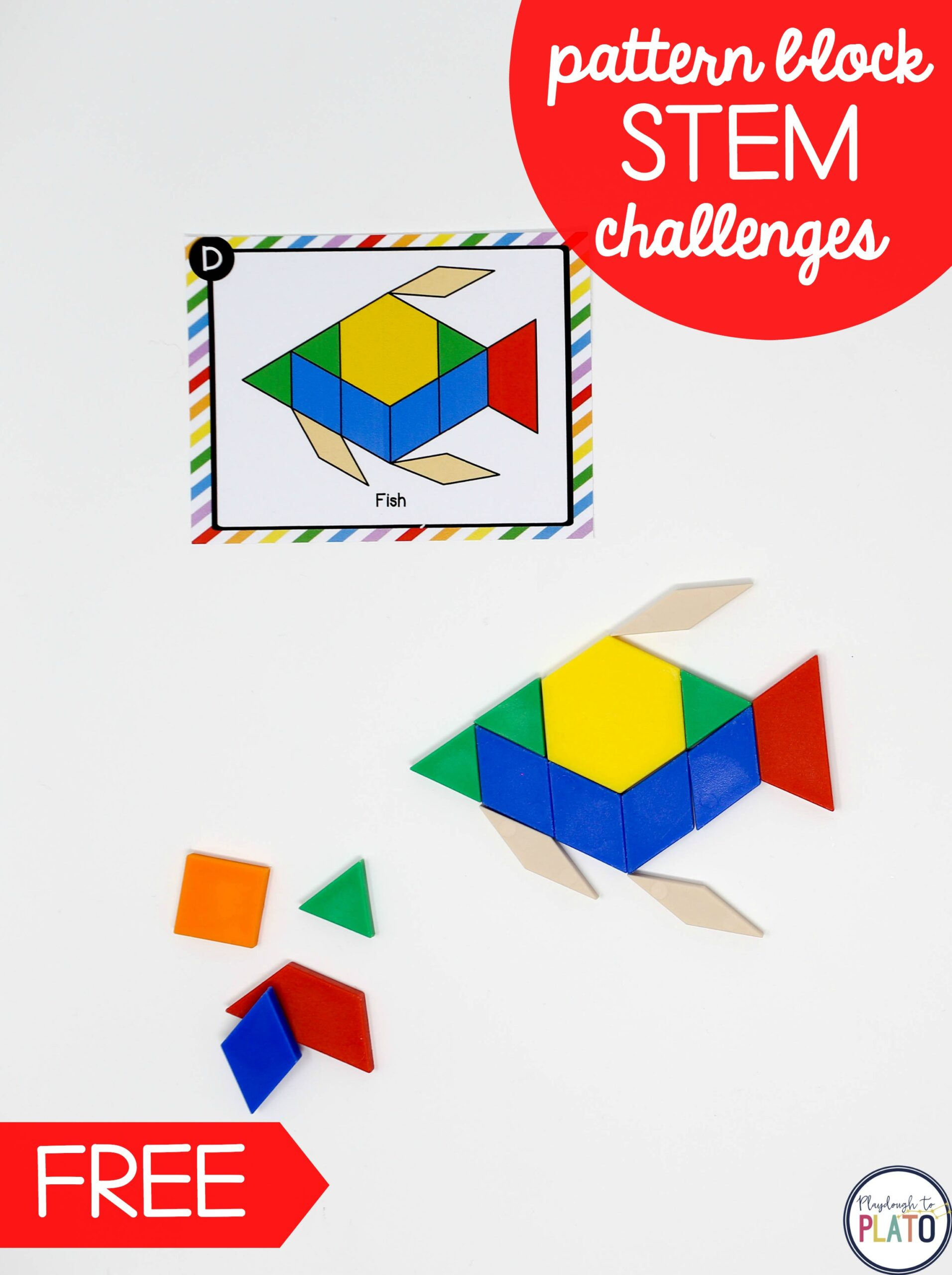 STEM Pattern Block Challenges