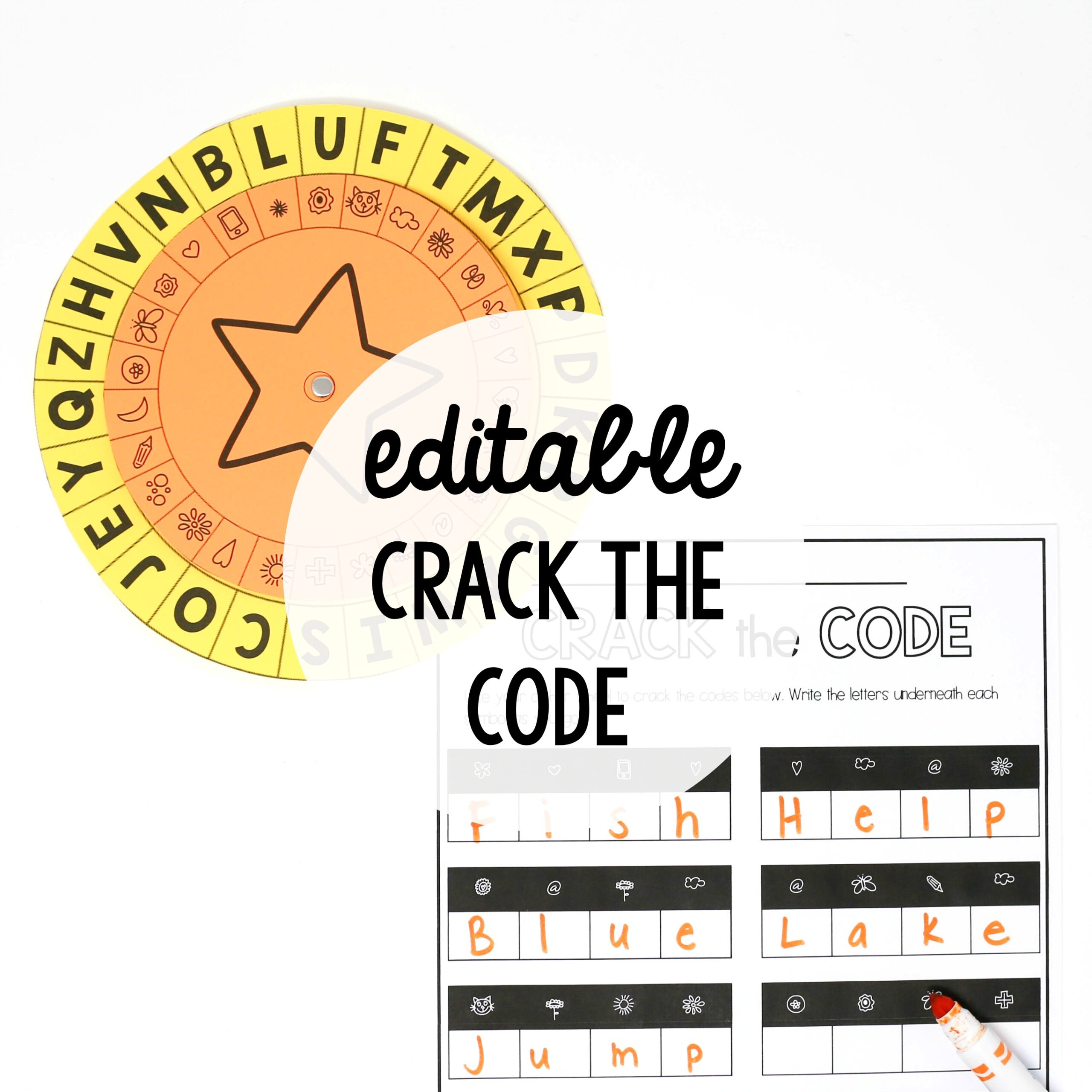 EDITABLE Crack the Code