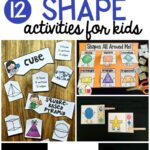 12 Shape Games for Kids