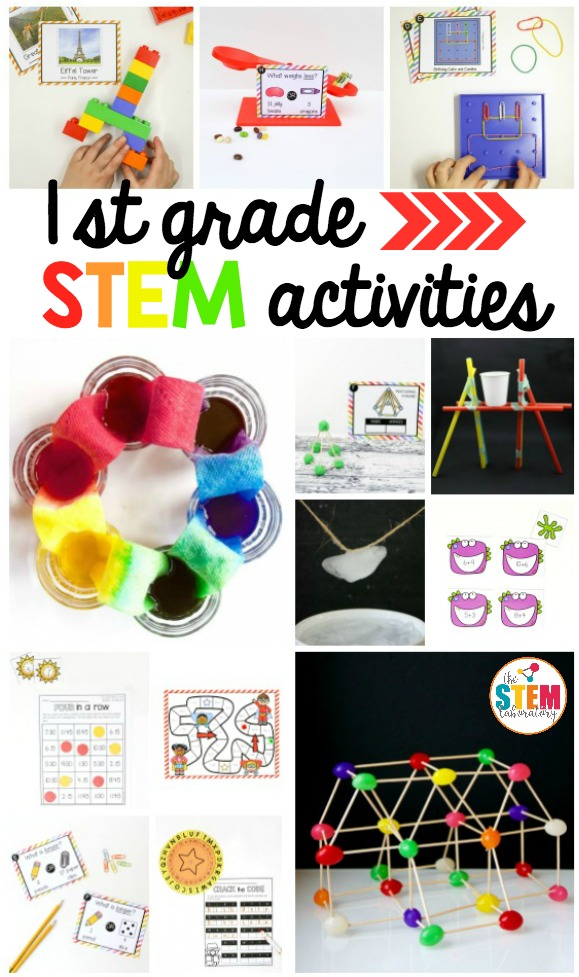 First Grade STEM Activities The Stem Laboratory