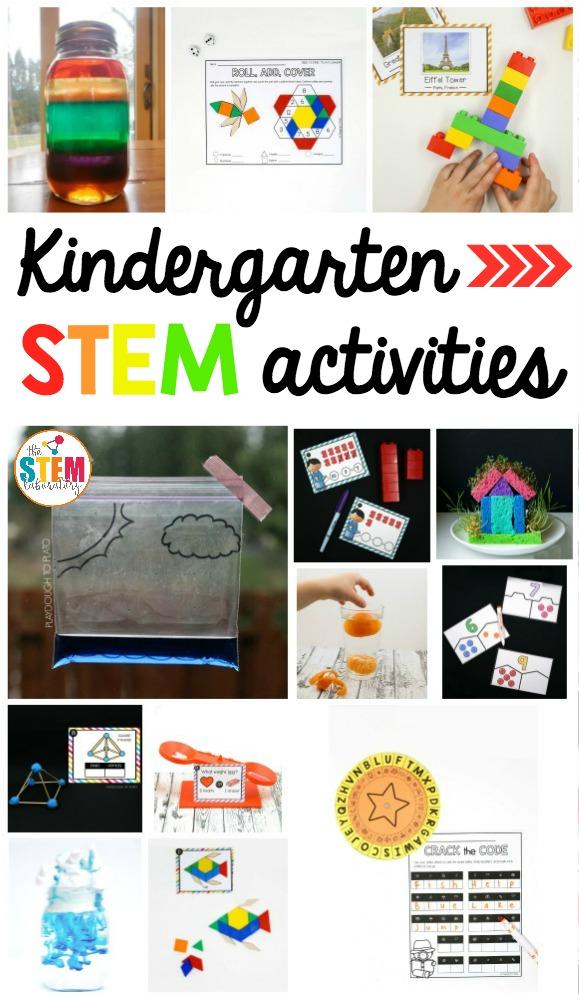 Kindergarten Stem Activities The Stem Laboratory