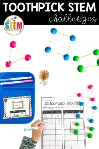 Toothpick STEM Challenges
