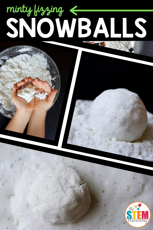 Minty Fizzing Snowballs