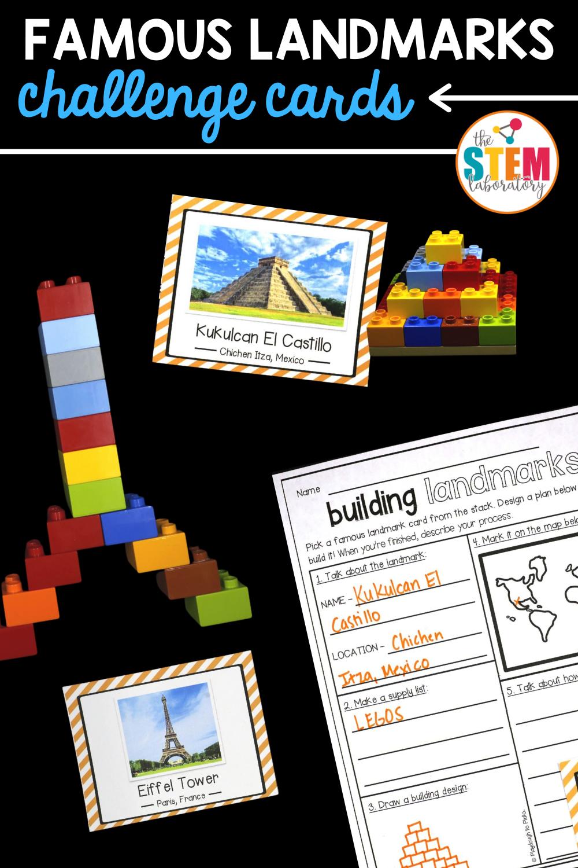 Famous Landmarks STEM Challenge