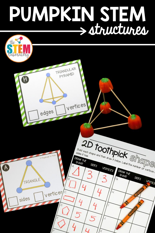 Pumpkin STEM Structures