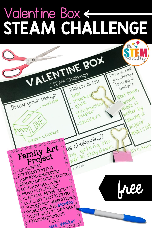 Valentine Box STEAM Challenge