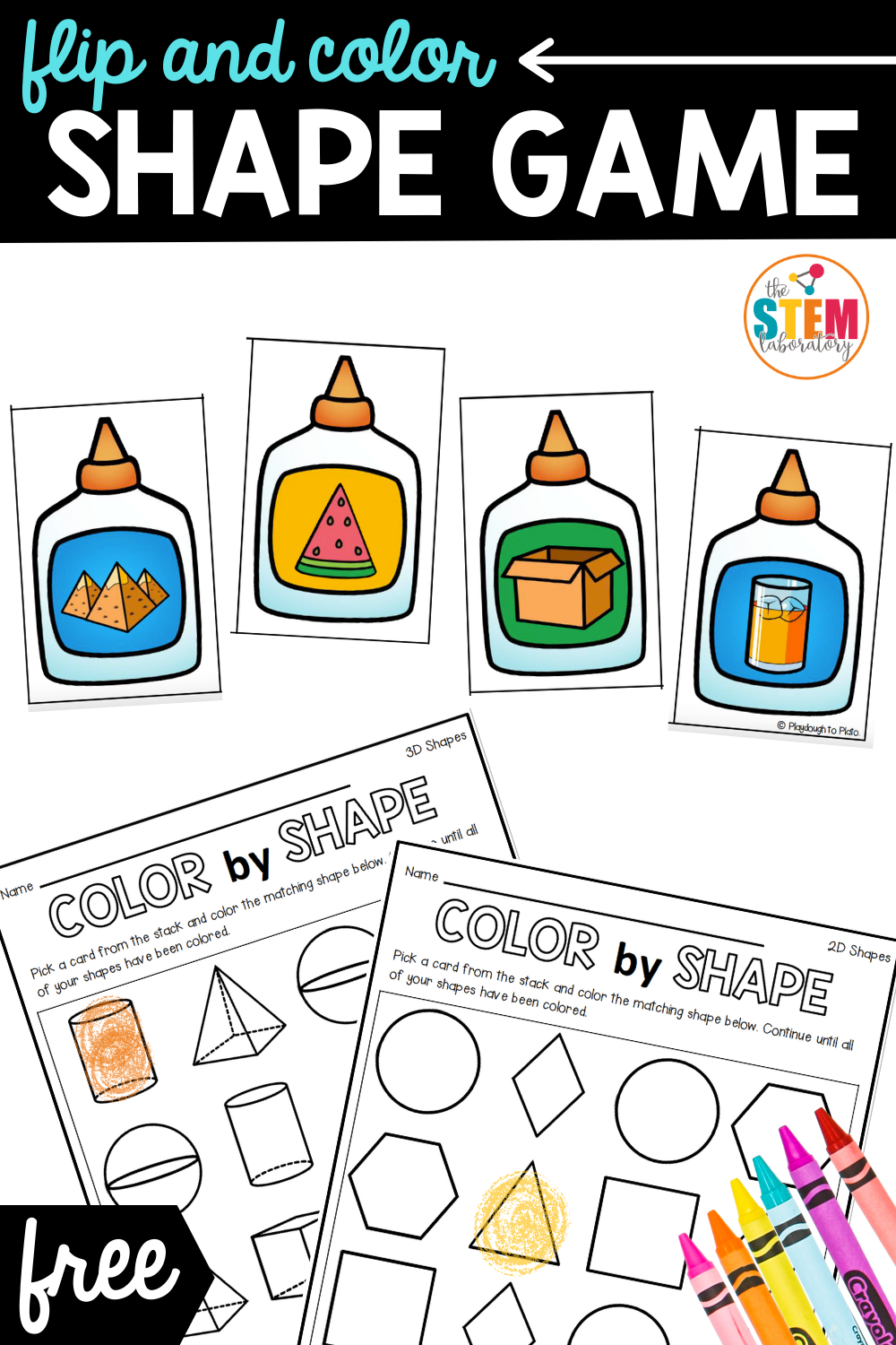 Flip and Color Shape Game