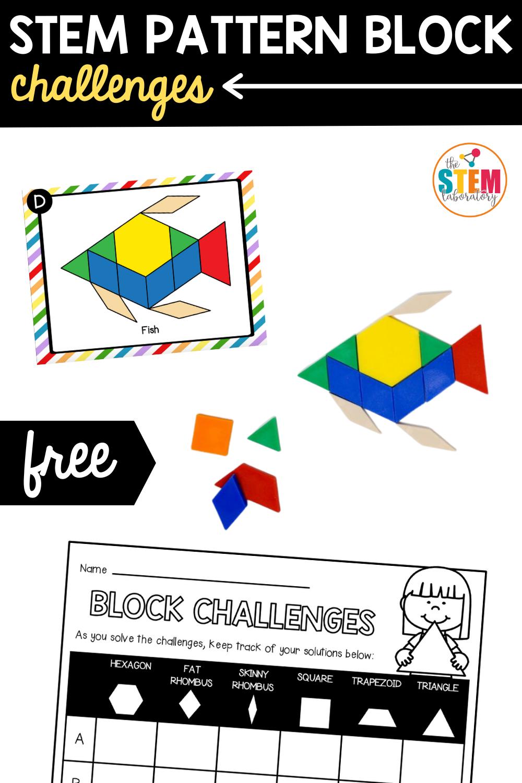STEM Pattern Block Challenges