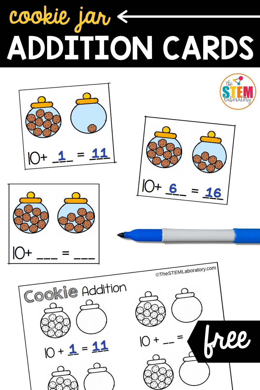 Cookie Jar Addition Cards