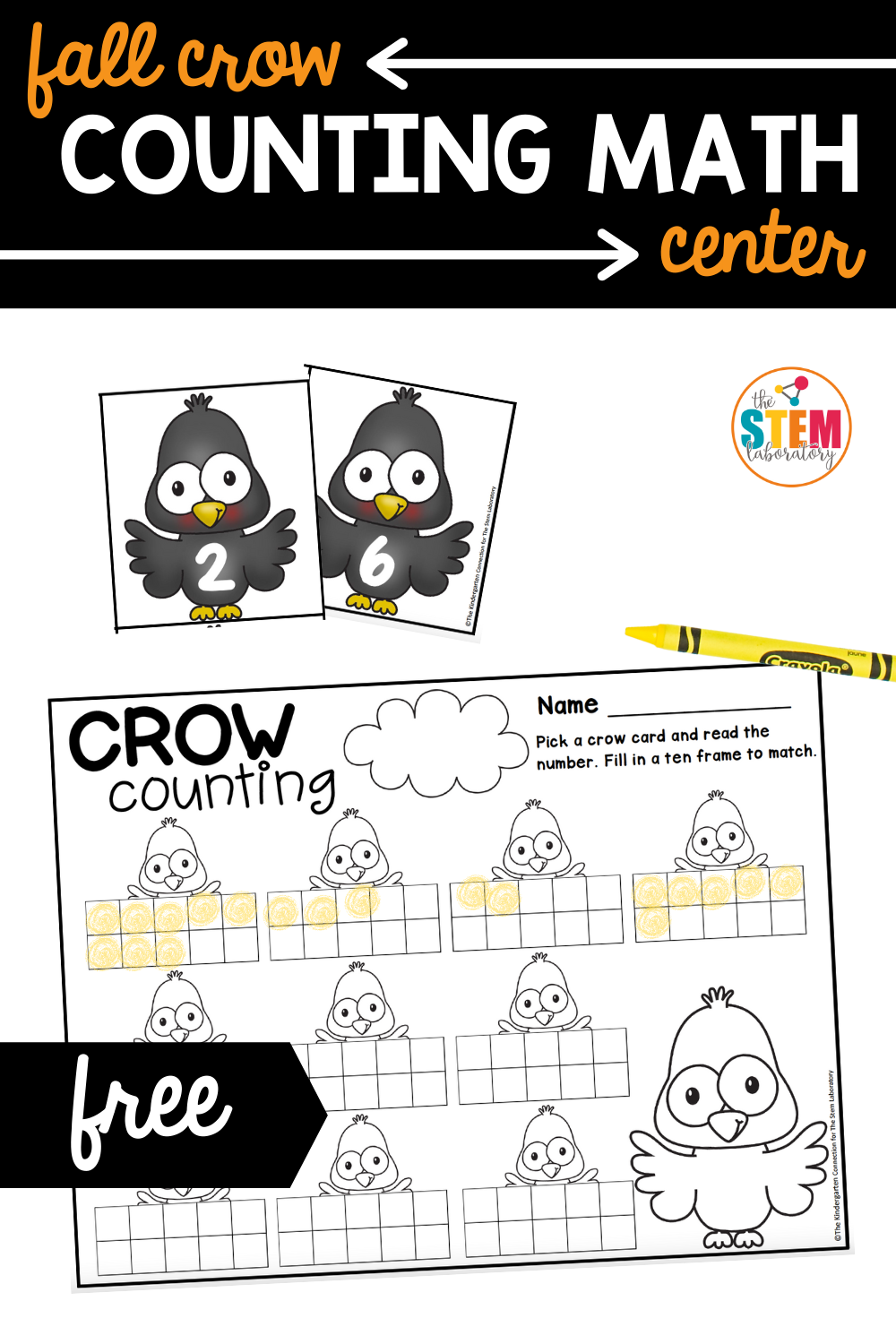 Fall Crow Counting Math Center